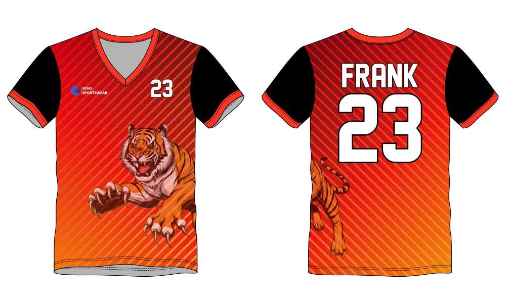 Dry fit custom team uniforms sublimation printing